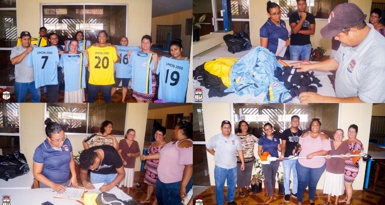 Municipalidad de Limón entrega dos Partidas en Limón 2000