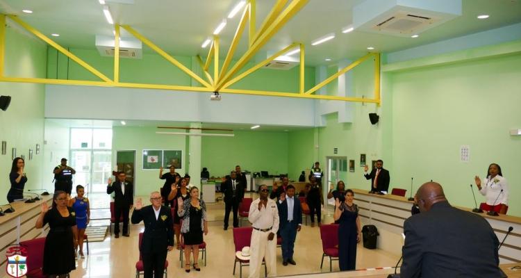 Posesión y juramentación de las Autoridades del Gobierno Local